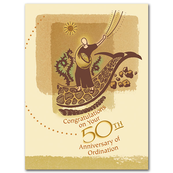 Congratulations on Your 50th Anniversary of Ordination: 50th ...