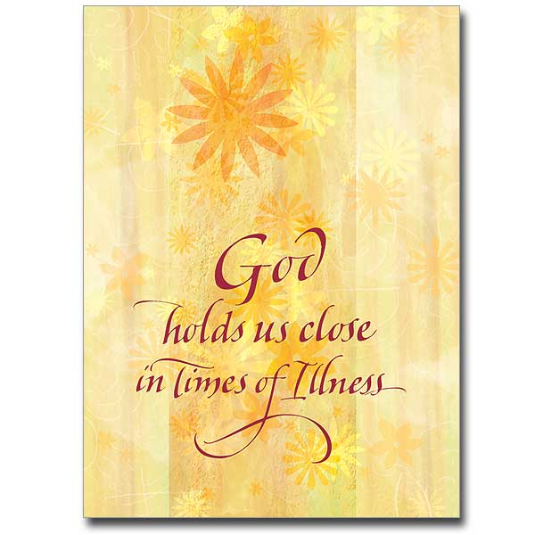 Serious illness cards buy christian get well greeting cards online god holds us close m4hsunfo