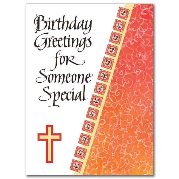 Birthday Greetings to a Treasured Friend Birthday Card – Catholic Greetings Birthday