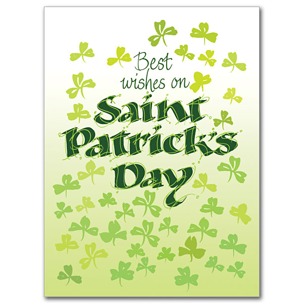 Best wishes on saint patricks day st patricks day card st patricks day card m4hsunfo