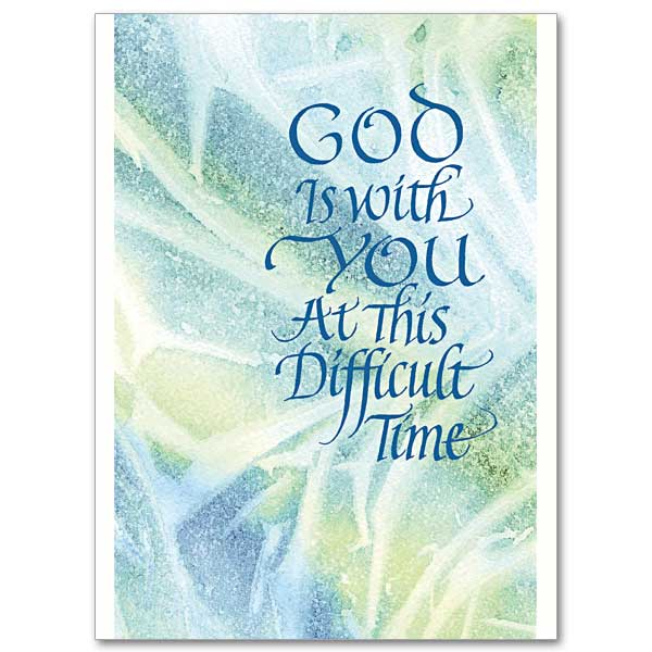 God is with you sympathy card sympathy card click here for larger picture m4hsunfo
