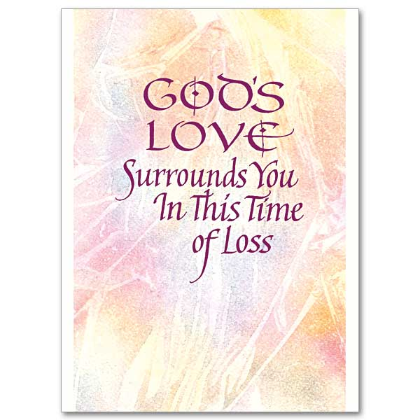 Gods love surrounds you sympathy card gods love surrounds you sympathy card m4hsunfo