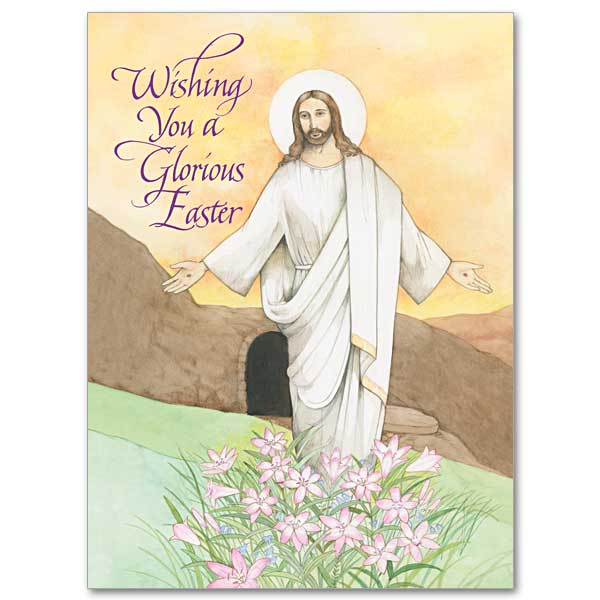 wishing you a glorious easter easter card