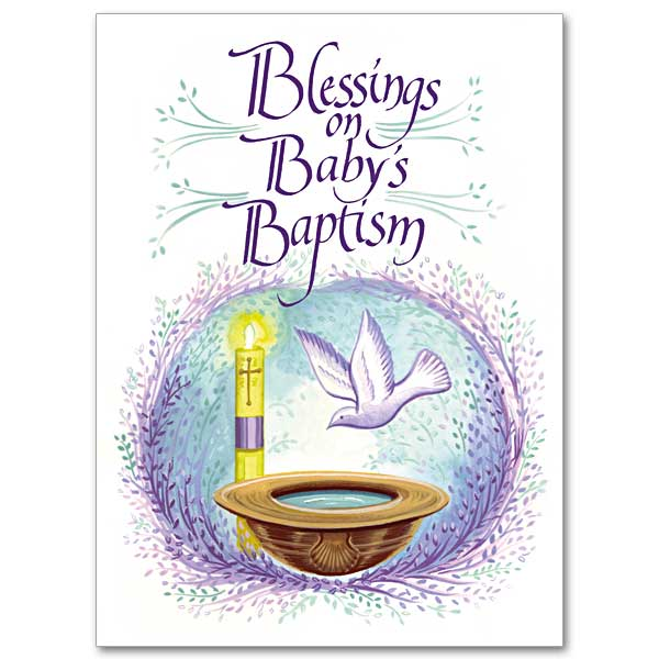 Blessings on babys baptism baptism card child blessings on babys baptism m4hsunfo