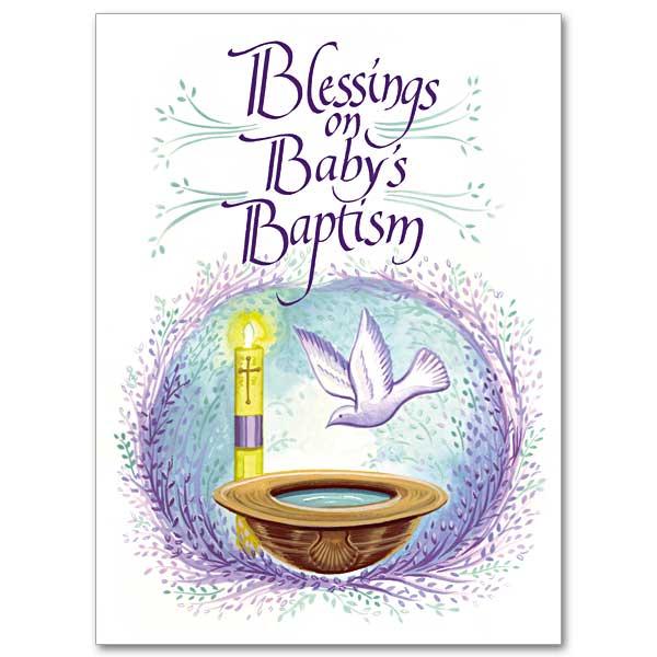 Child Baptism Cards
