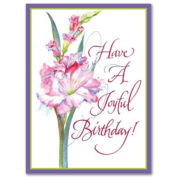 Have A Joyful Birthday: Birthday Card