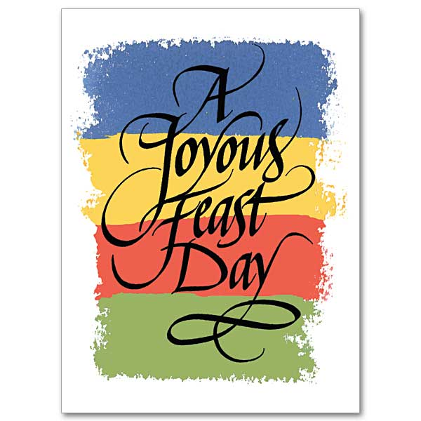 Feastday greetings feast day card a joyous feast day m4hsunfo
