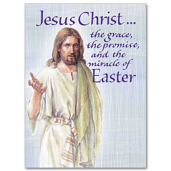 Jesus christ the grace the promise easter card click here for larger picture m4hsunfo