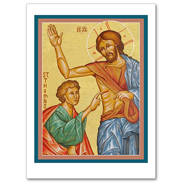 Doubting thomas icon greeting card icon greeting card m4hsunfo