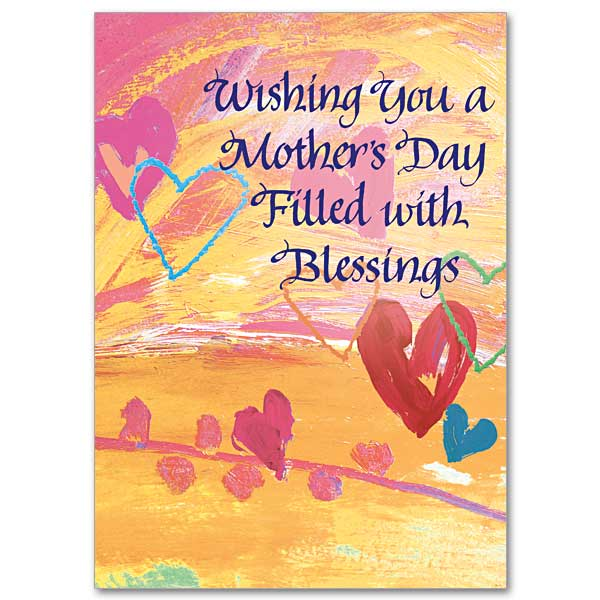 wishing you a mother s day filled with blessings mothers day card