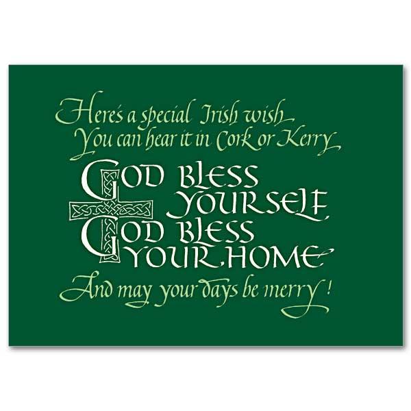 Heres a special irish wish abbey irish birthday card abbey irish birthday card m4hsunfo