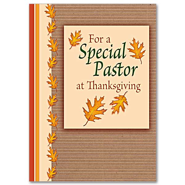 Thanksgiving greeting cards buy christian thank you card online for a special pastor at thanksgiving m4hsunfo