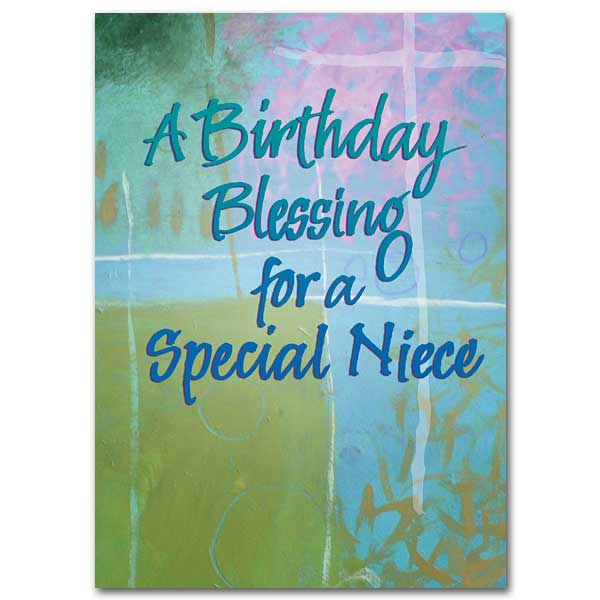 A birthday blessing for a special niece family blessings birthday card a birthday blessing for a special niece family blessings birthday card bookmarktalkfo Choice Image