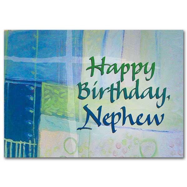 Happy Birthday Nephew Family Blessings Birthday Card For Nephew