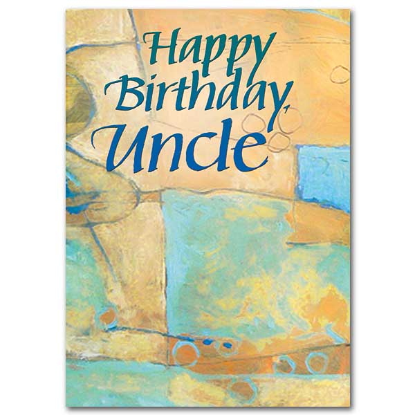 Happy Birthday, Uncle: Family Birthday Card