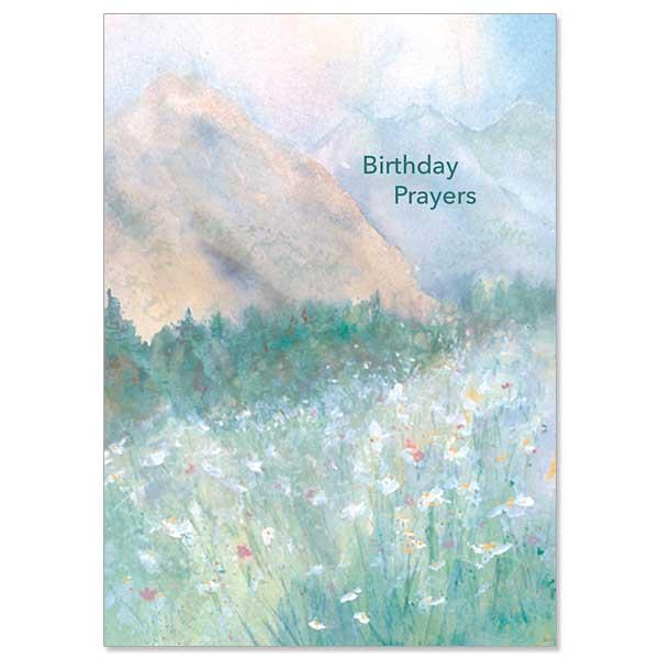 Birthday Prayers Card