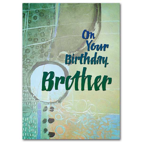 On Your Birthday Brother Birthday Card For Brother
