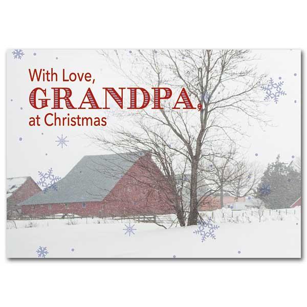 grandpa christmas card - Grandpa For Christmas