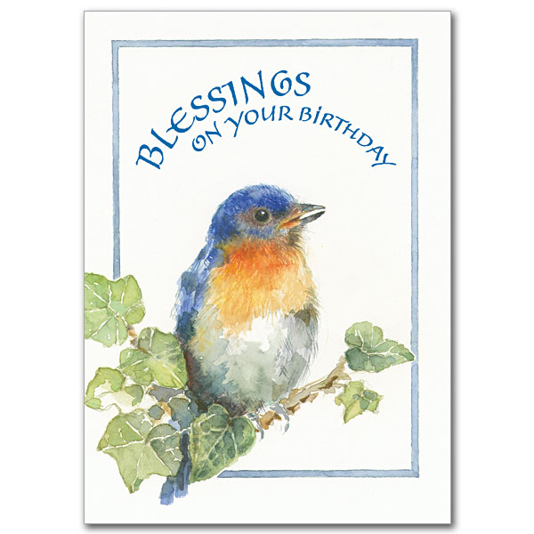 Blessings on your birthday birthday card birthday card m4hsunfo Image collections