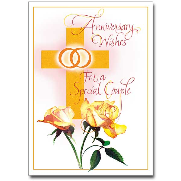 Anniversary Wishes Wedding Anniversary Card