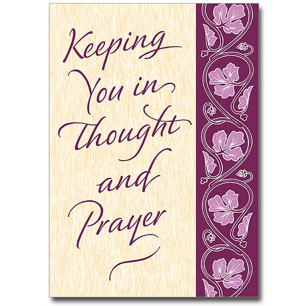 Keeping You In Thought Thinking Of You Card