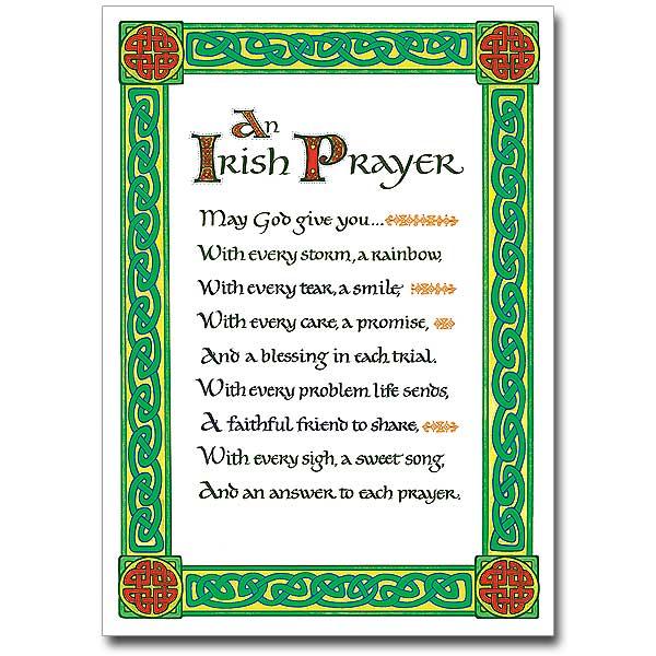 Irish Blessing Cards, Buy Celtic & Deluxe Irish Blessings ...