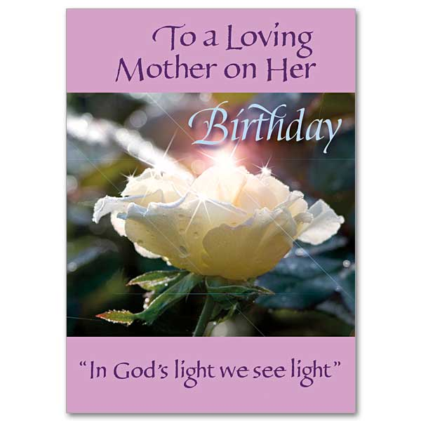 To a Loving Mother Family Birthday Card for Mother – Family Birthday Cards