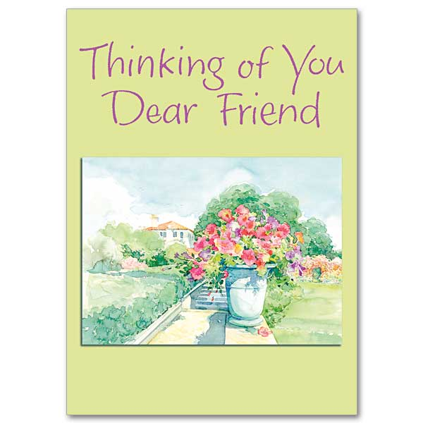 May Good Things Come Your Way Thinking Of You Card