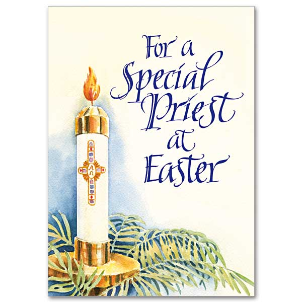 For a Special Priest at Easter: Easter Card for Priest