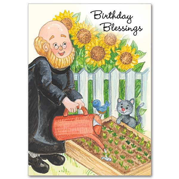 Birthday Blessings Brother Christopher Birthday Card