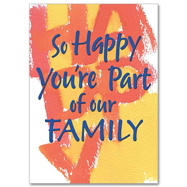 So Happy You're Part of Our Family: Family Blessings ...
