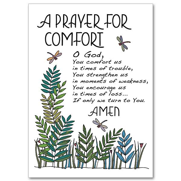 Catholic prayer for comfort