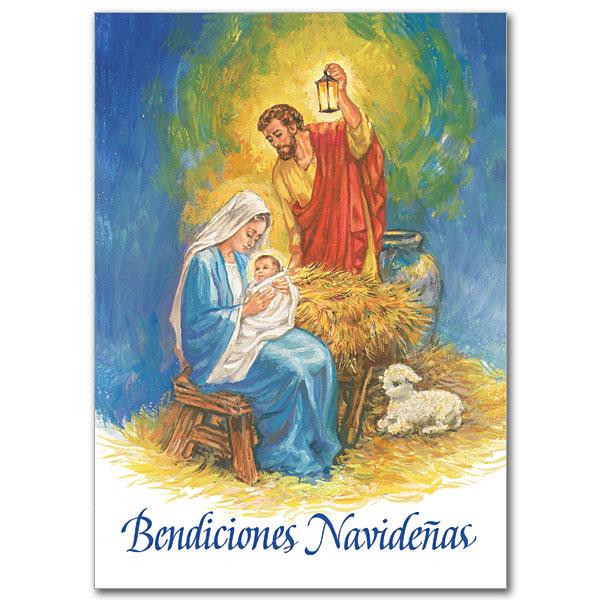 Bendiciones Navideñas: Spanish Christmas Card