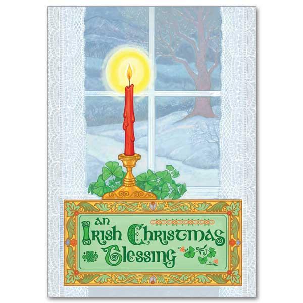 an irish christmas blessing christmas card