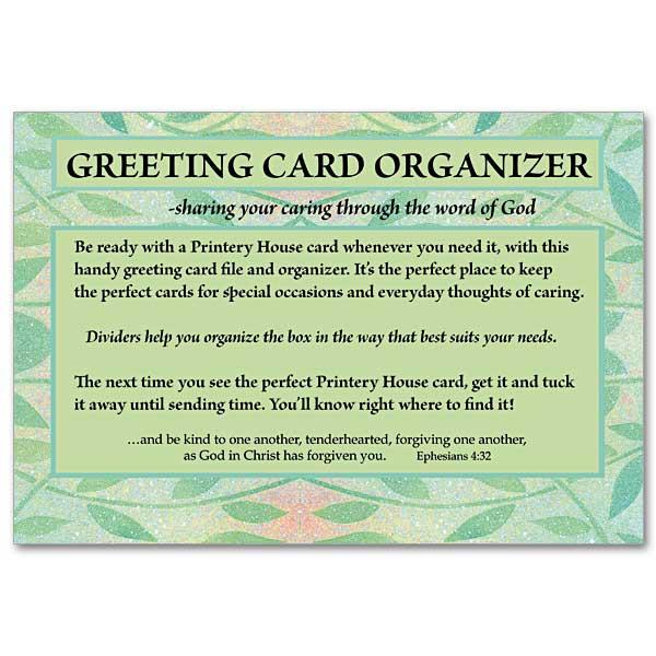 Greeting card organizer card organization and storage divider 1 m4hsunfo