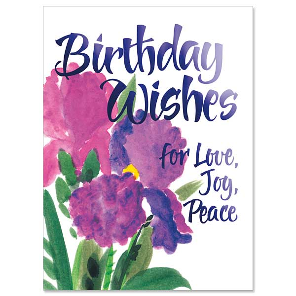 Birthday wishes for love joy peace joy birthday card click here for larger picture m4hsunfo