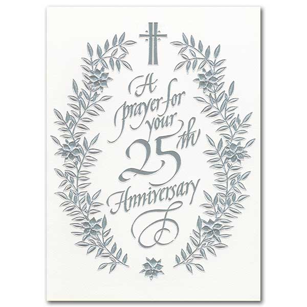 a prayer for your 25th anniversary  25th wedding