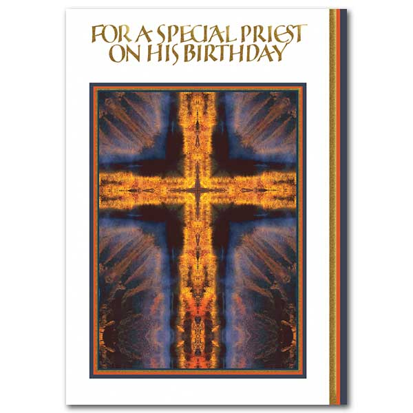For a Special Priest on His Birthday: Birthday Card