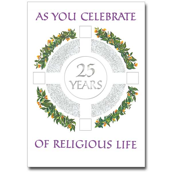 Jubilee Cards Buy Religious Profession Anniversary Card Online