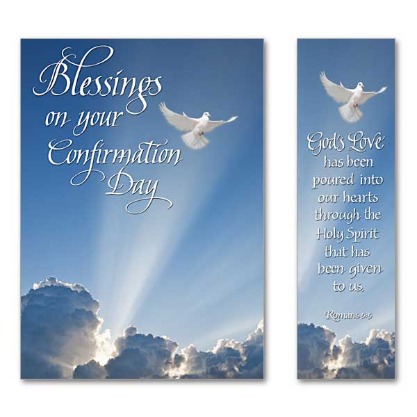 Blessings On Your Confirmation Day Confirmation Card