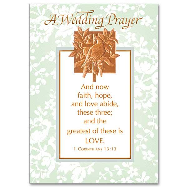 Wedding congratulations card buy wedding congratulation greeting wedding congratulations card starting at 315 more info and now faith hope and love abide m4hsunfo