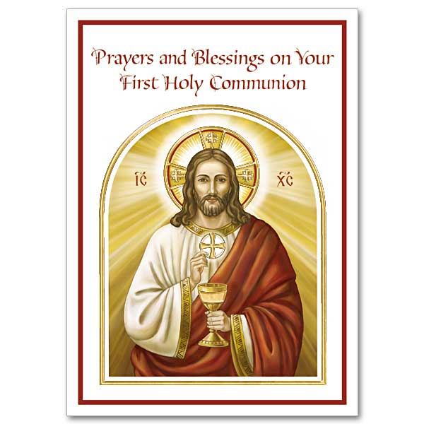 First Communion Cards Buy Christian Religious Greeting Cards Online