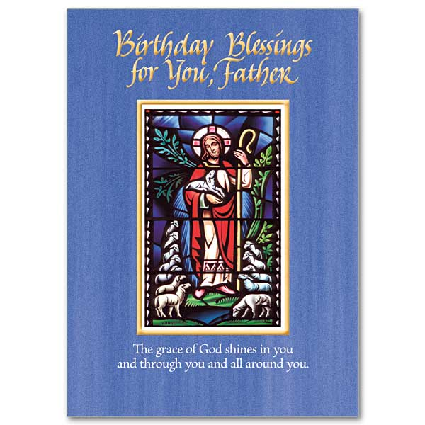 Priest Birthday Card The Printery House – Catholic Greetings Birthday