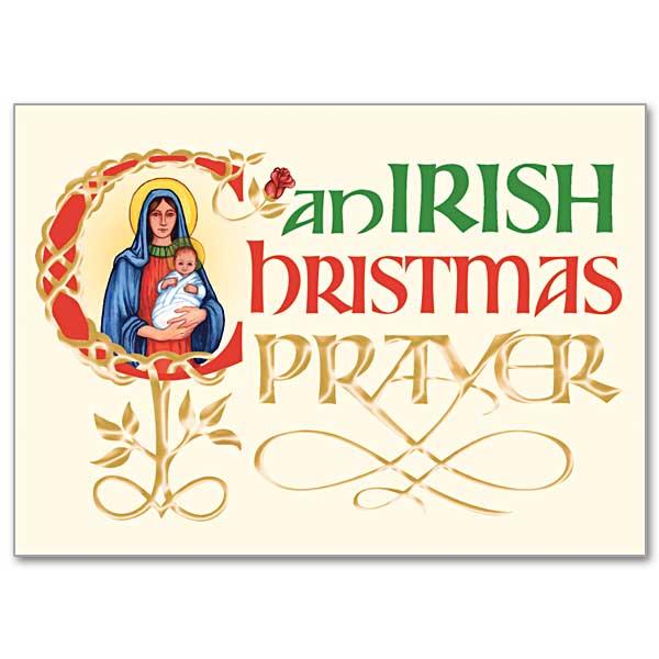 An Irish Christmas Prayer: Christmas Card