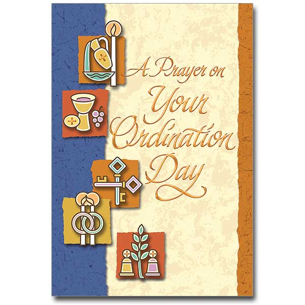 A prayer on your ordination day ordination congratulations card click here for larger picture m4hsunfo