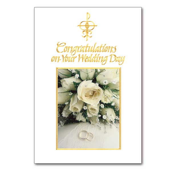 Wedding congratulations card buy wedding congratulation greeting congratulations on your wedding day m4hsunfo