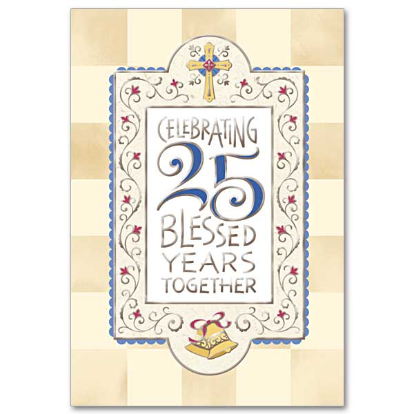 25th Wedding Anniversary Religious Messages
