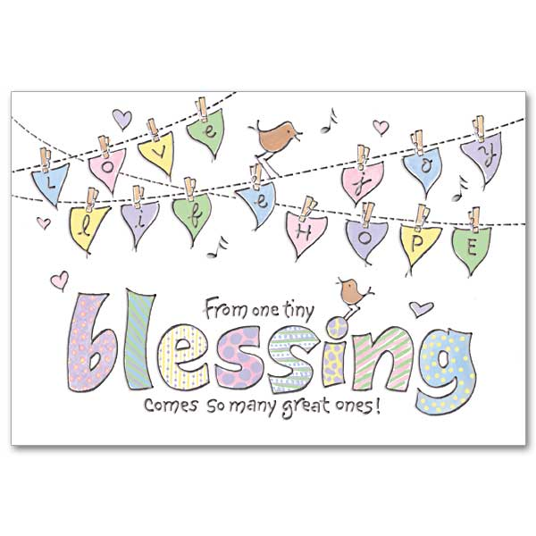 Baby Blessings Card