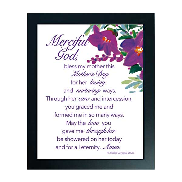 Prayer for Mothers: Mother's Day Framed Print
