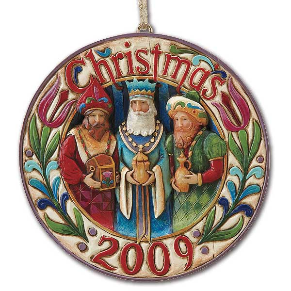 Three Wise Men Ornament Dated 2009: